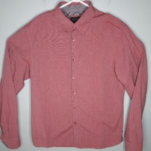 Guess Long Sleeve Button Front Shirt